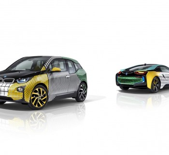 Garage Italia Customs Memphis Design BMW i3 BMW i8 Art Car