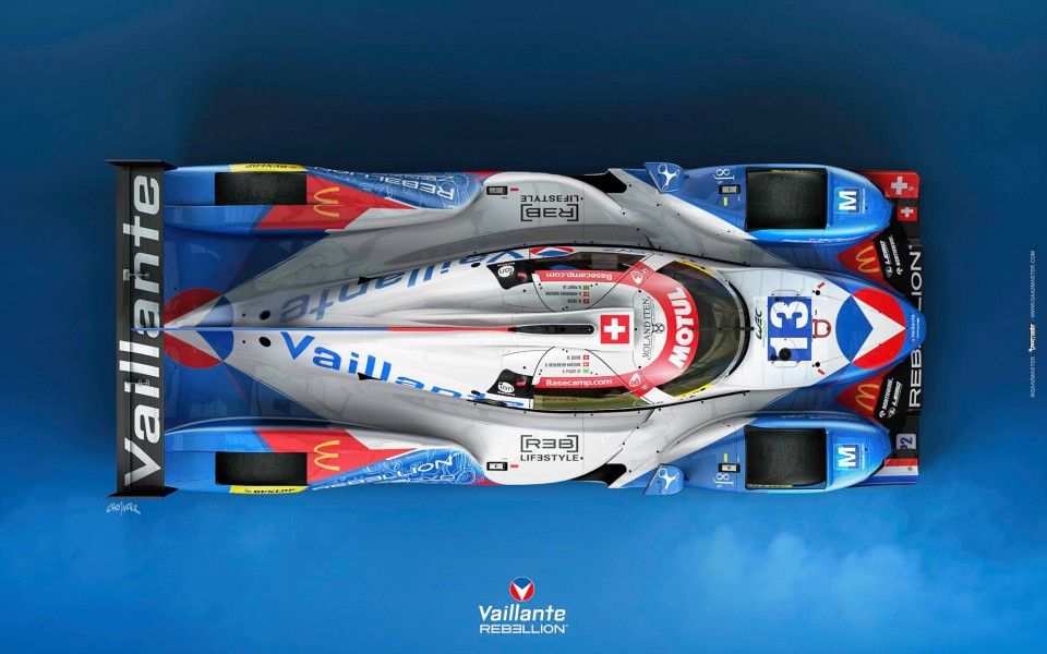 Rebellion Vaillante LMP2 13 - LMP2 Piquet Jr Beche Heinemeier Hansson