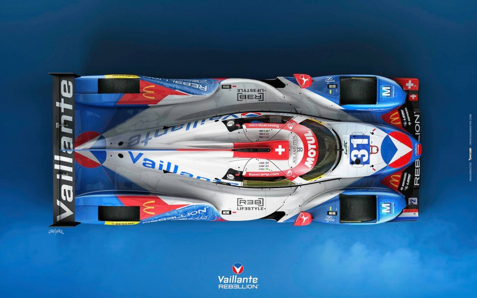 Rebellion Vaillante LMP2 31 - Prost Senna Canal