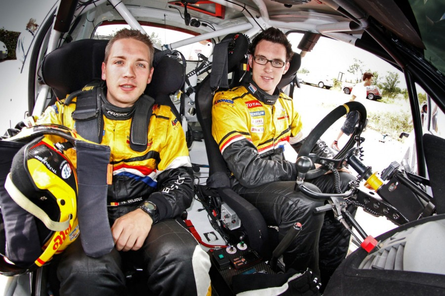 Tour de Corse 2011 - Thierry Neuville Nicolas Gilsoul Peugeot 207 S2000