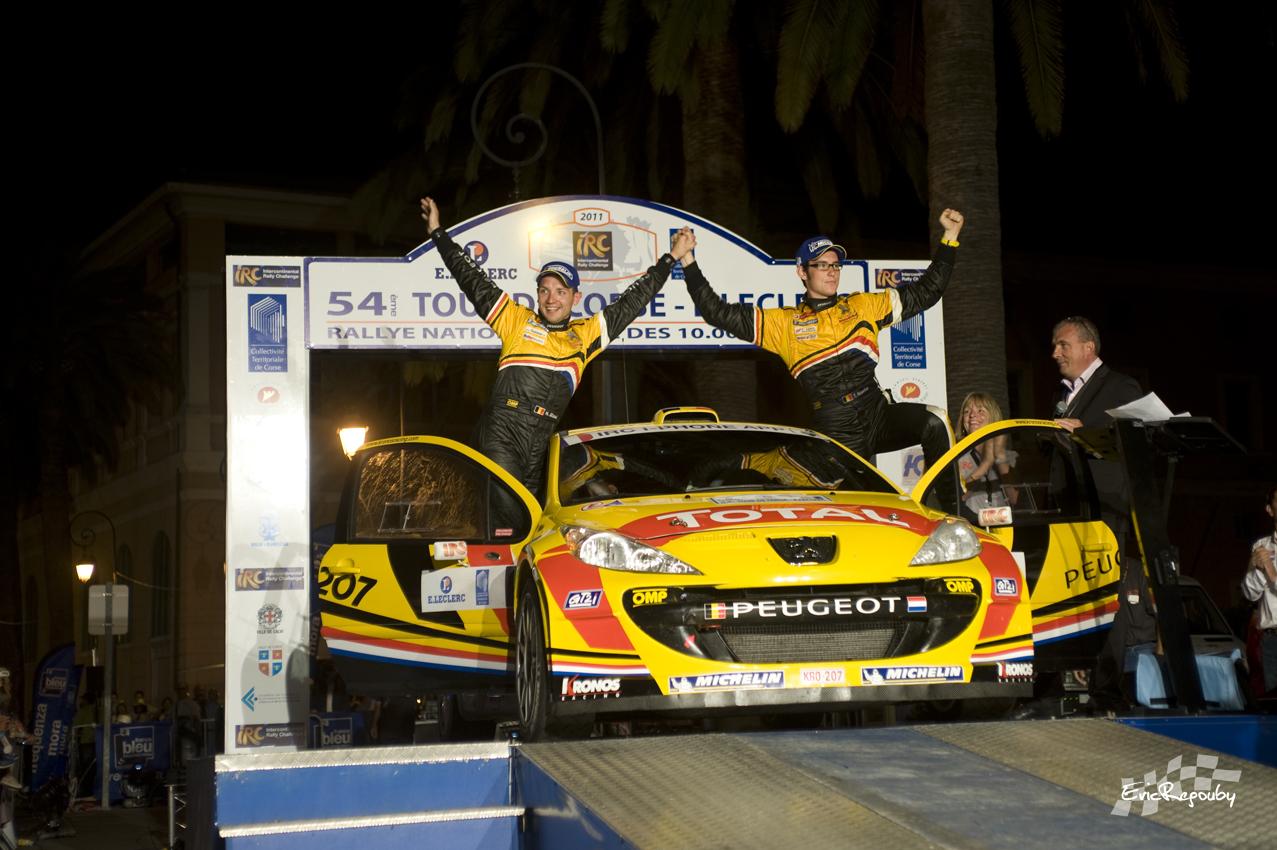 Certaines victoires marquent plus que d'autres  : Thierry Neuville & Nicolas Gilsoul, Tour de Corse 2011