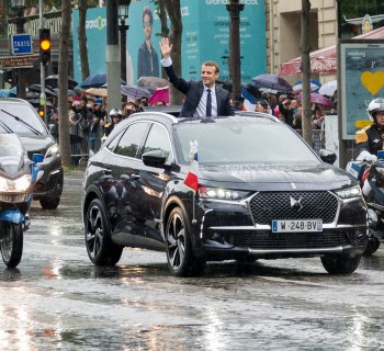 DS 7 Crossback president republique francaise emmanuel macron investiture paris champs elysees