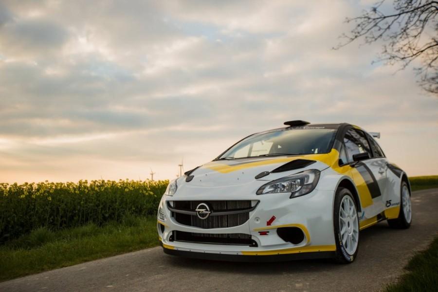 Opel Corsa R5 Holzer Motorsport - 9