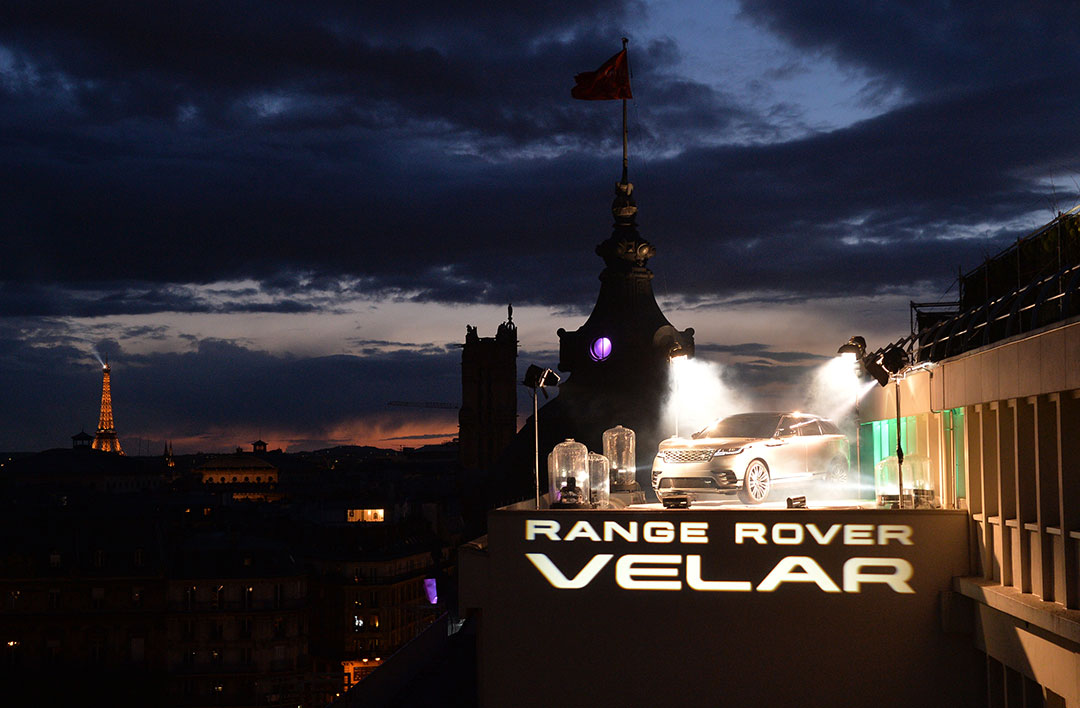 Avec le Velar, Range Rover fait sa gamme