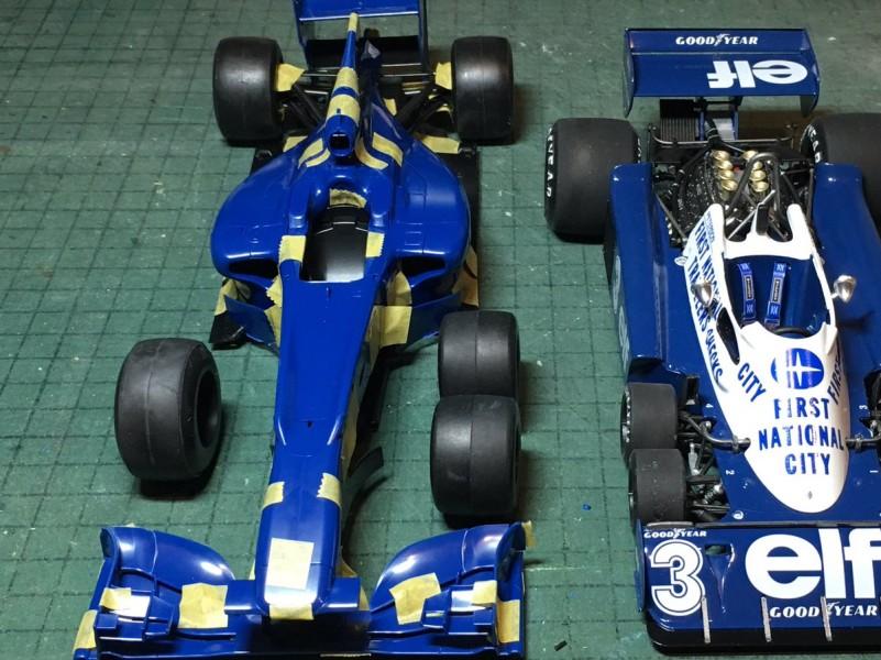 Tyrrell P34 6 roues 2017 : un travail d'orfèvre