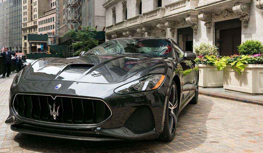 Maserati-GranTurismo-NewYorkStockExchange