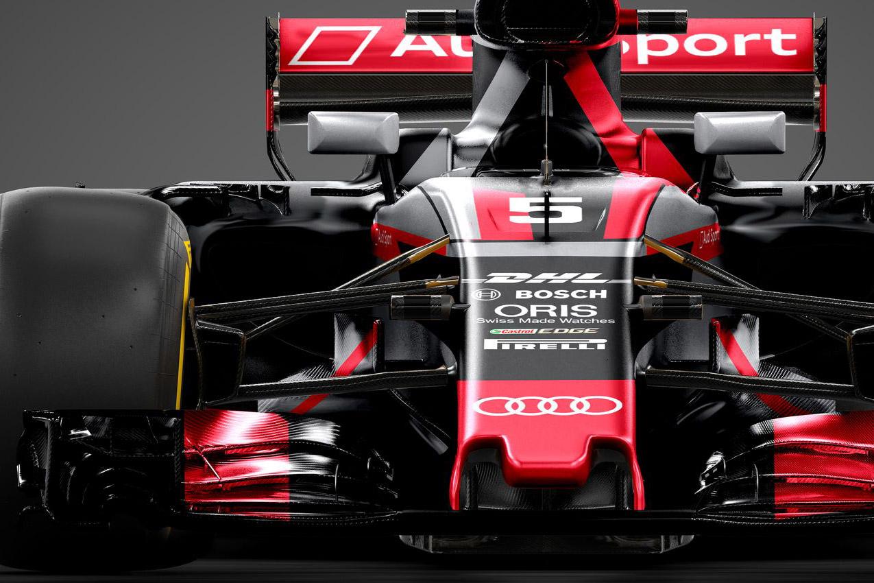 Audi en F1. Et toi, tu m'aimes ?