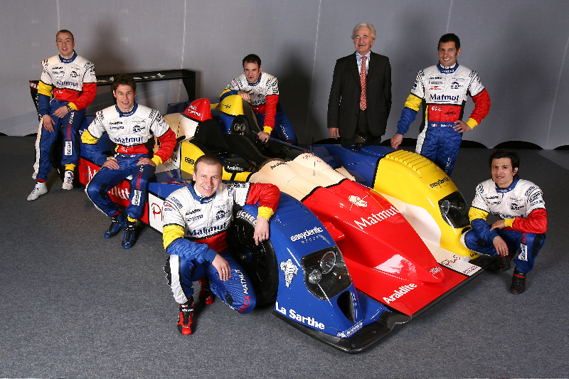 MOTORSPORT/LMS COURAGE ORECA LAUNCH