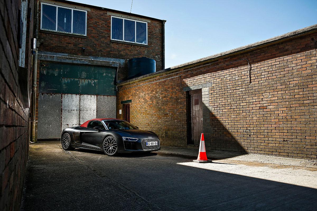 Essai Audi R8 Spyder: tout pour l'image