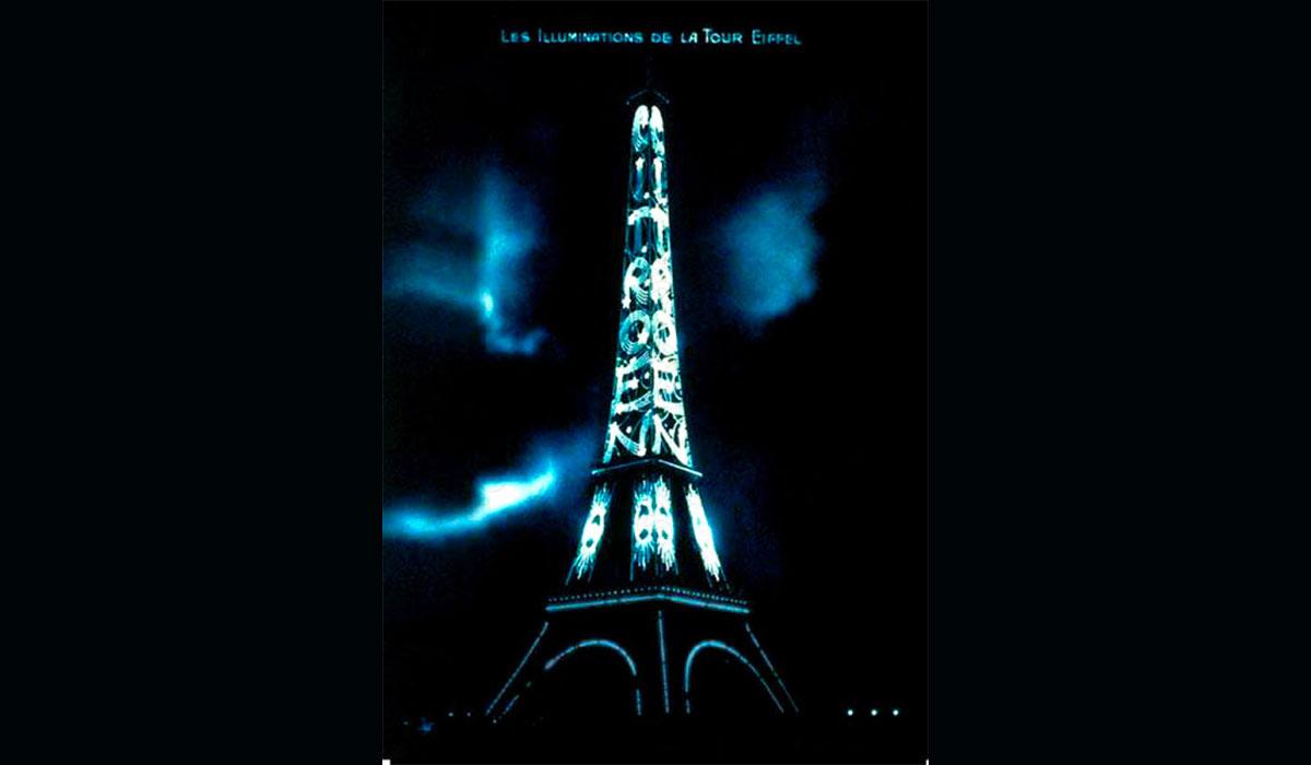 Citroën s'empare de la Tour Eiffel