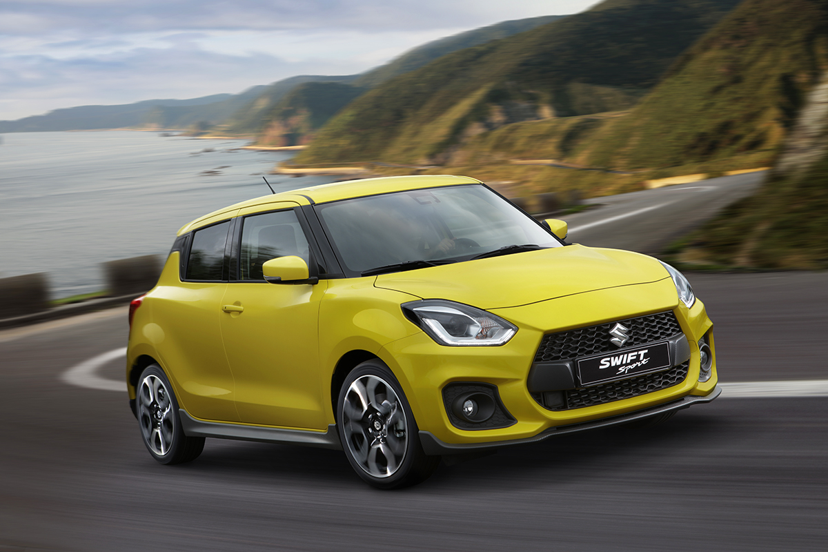 Suzuki Swift Sport : full course Yellow !