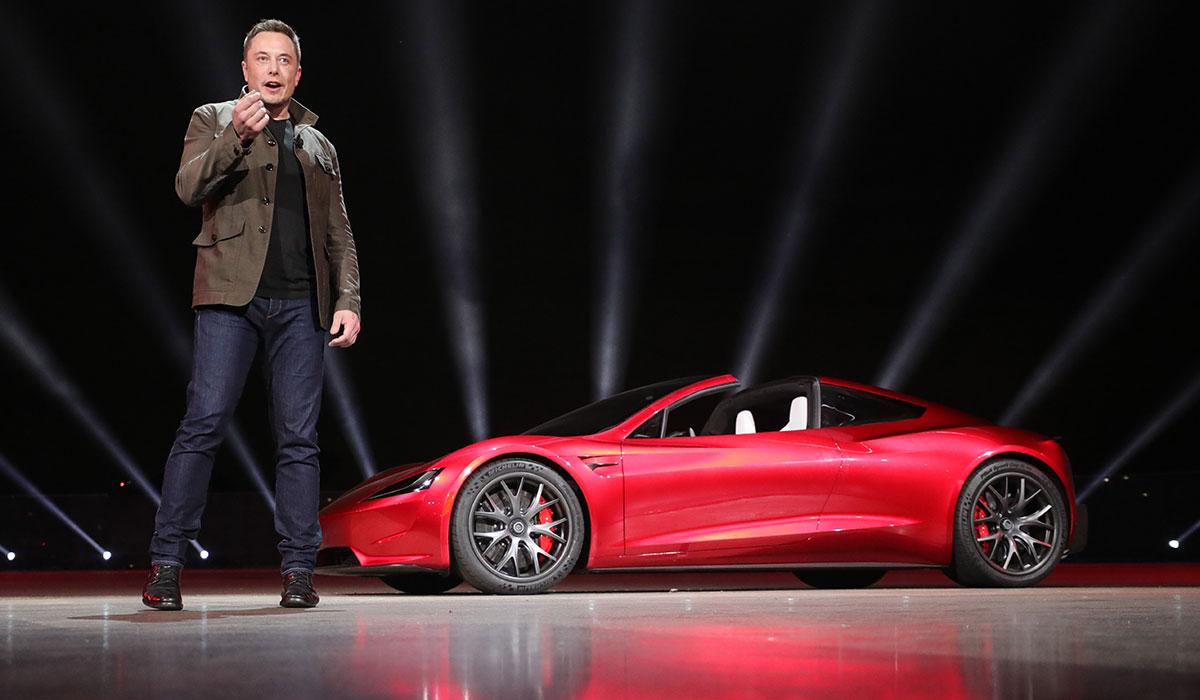 Surprise signée Elon Musk : Tesla Roadster