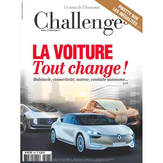 Renault en une de Challenges : quelle coïncidence !