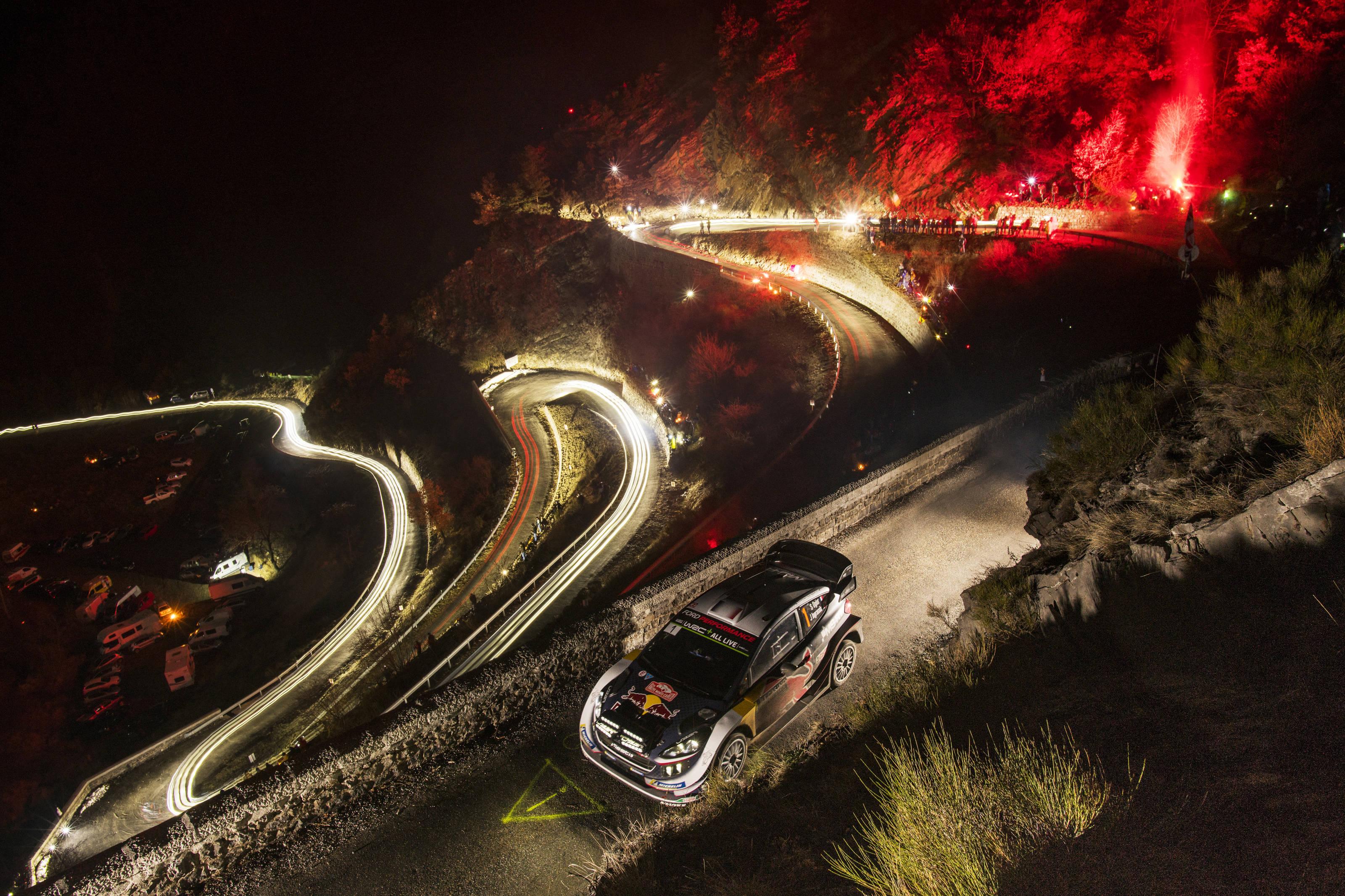 Du temps, j'en ai pris hier soir, Rallye Monte-Carlo