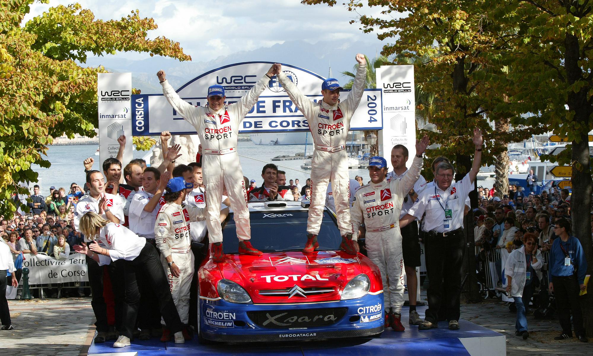 Sébastien Loeb et le Tour de Corse : 2004