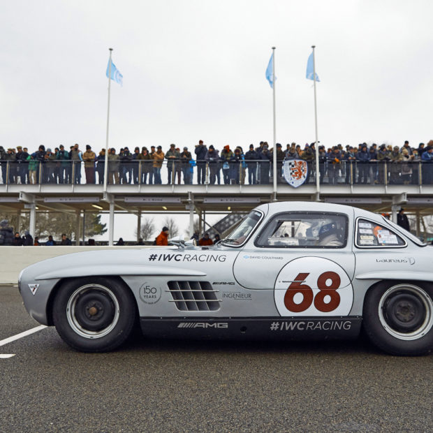 Les Mercedes 300 SL Gullwing du IWC Racing Team