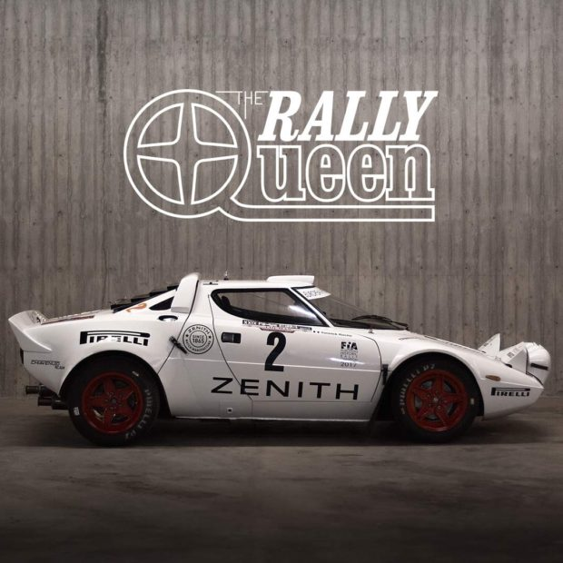 Lancia Stratos : the rally queen