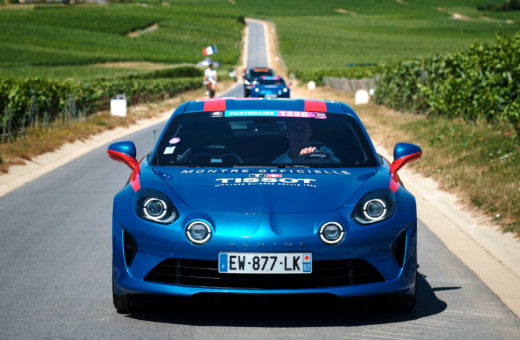 Les Alpine A110 Tissot du Tour de France