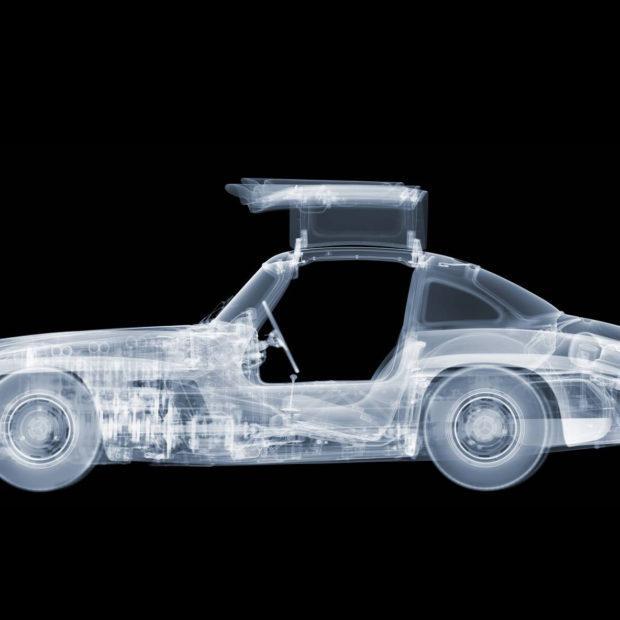 Nick Veasey : l'automobile au rayon X