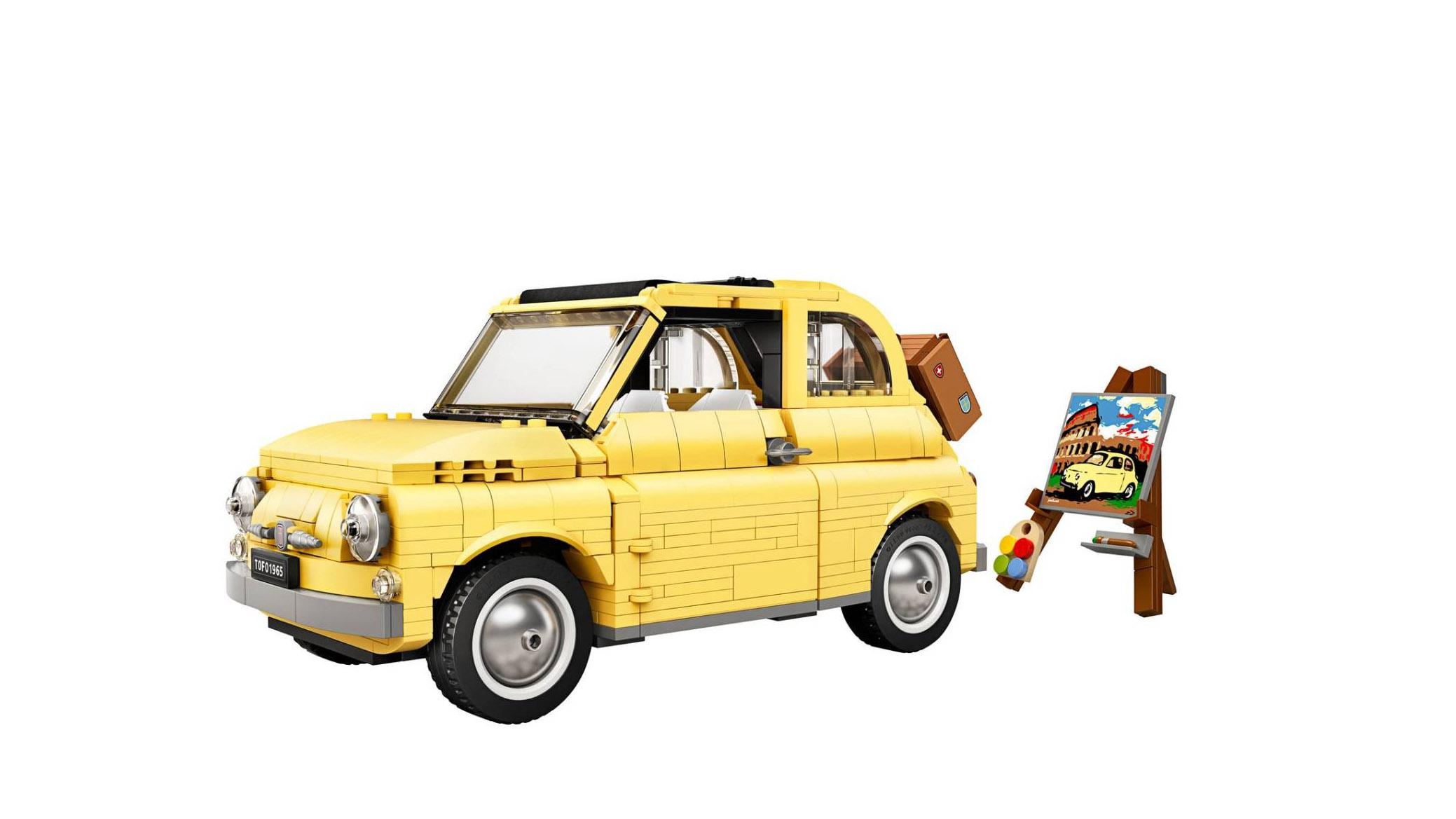 Fiat 500 Lego 10271 : Dolce Vita et briquettes danoises
