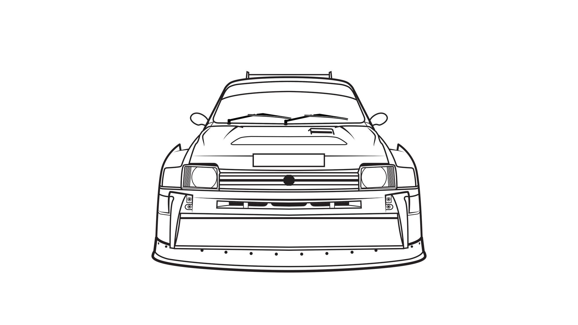 Des rallycar à colorier, par Final Tenth