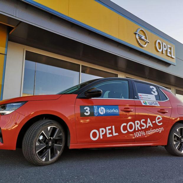 L'Opel Corsa-e en tête du Championnat E-Rallye FIA !
