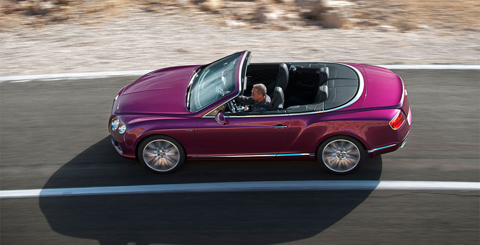 Nouveauté : Bentley Continental GT Speed Convertible