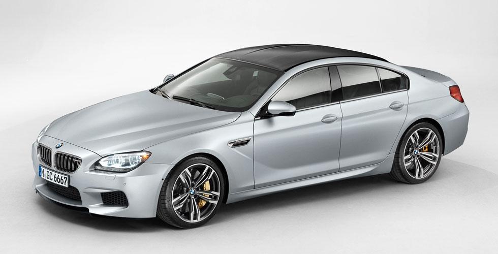 Nouveauté : BMW M6 Grand Coupe
