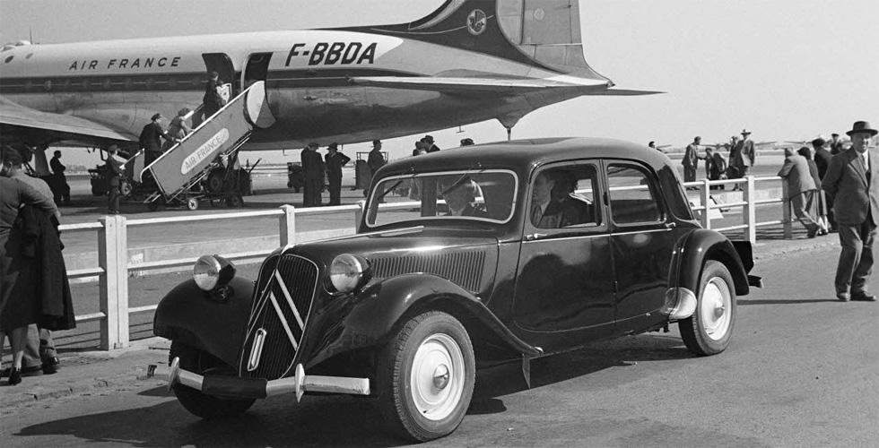 Culte : Citroën et Air France, l'image de la France