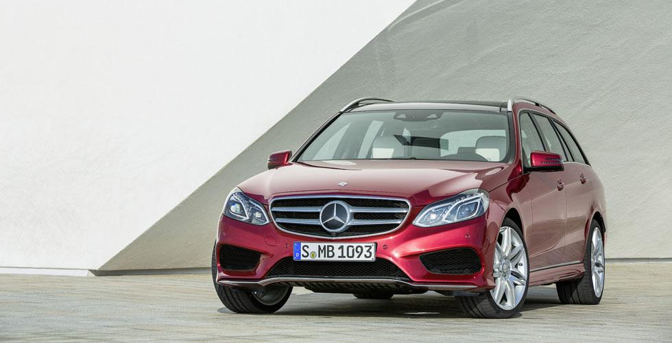 Nouveauté : Mercedes Classe E Berline et Break