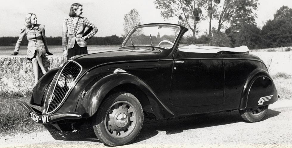 Culte : Peugeot 202 Cabriolet