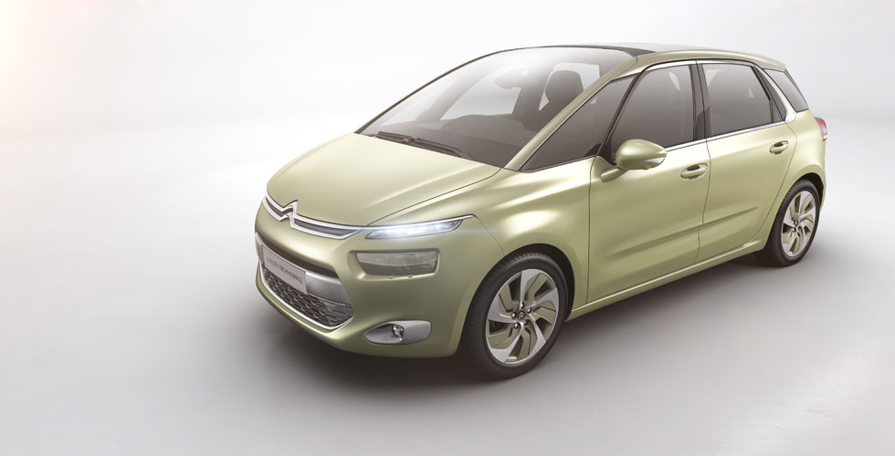 Nouveauté : Citroën Technospace Concept