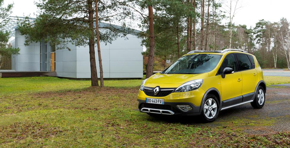 Nouveauté : Renault Scénic XMOD