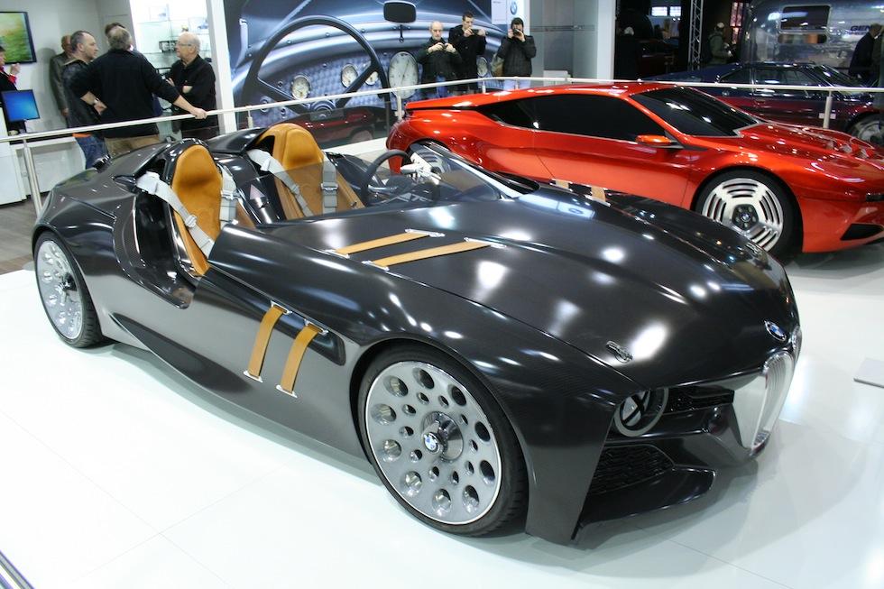 Retromobile : visite du stand BMW