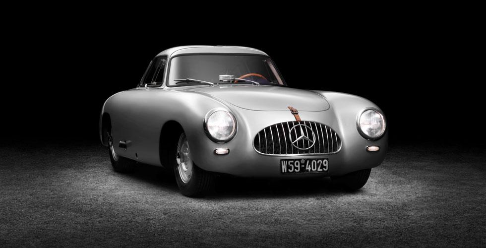 Culte : Mercedes-Benz 300 SL (W194)