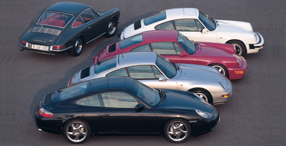 Darwinisme : Porsche 911