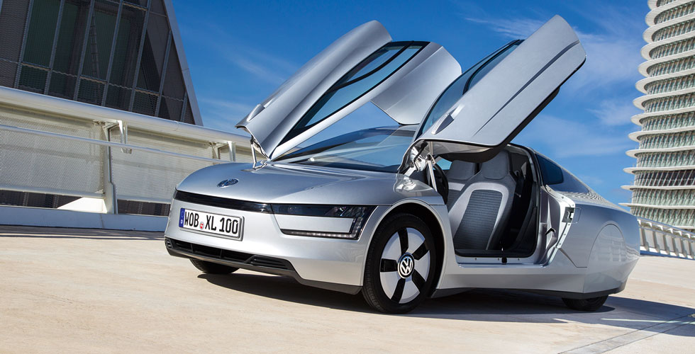 Nouveauté : Volkswagen XL1