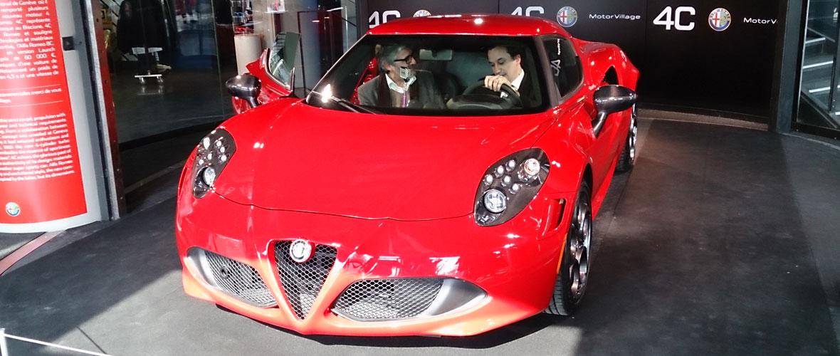 Rencontre : Alfa Romeo 4C