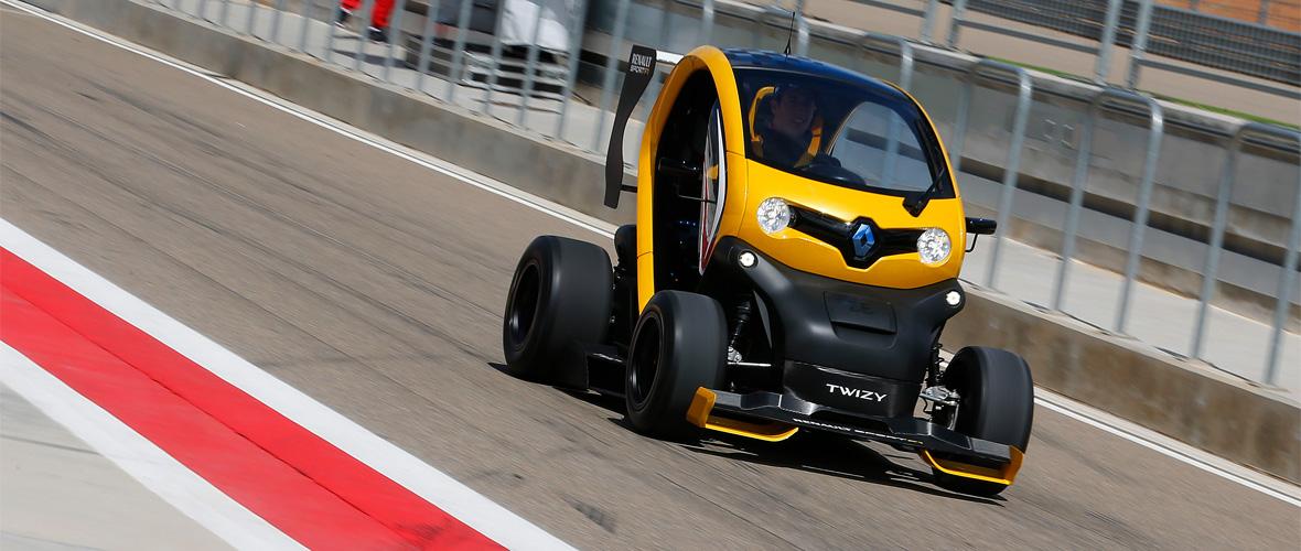 Twizy Renault Sport F1 électrise la piste