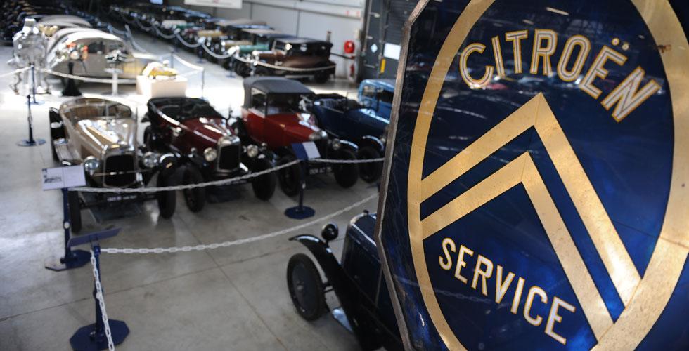 Visite virtuelle du Conservatoire Citroën