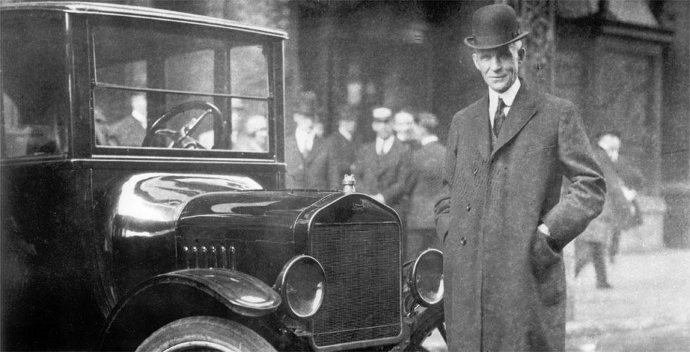 Les hommes : Henry Ford