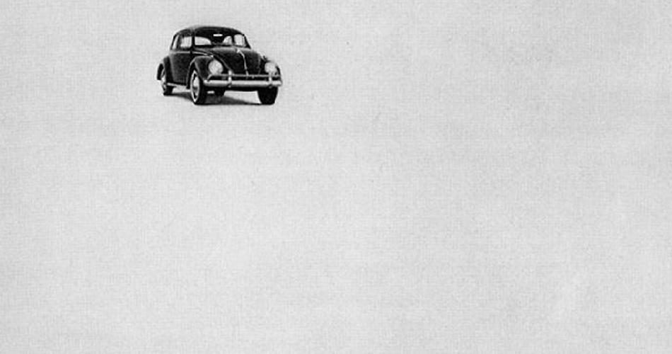 Histoire : Volkswagen révolutionne la publicité