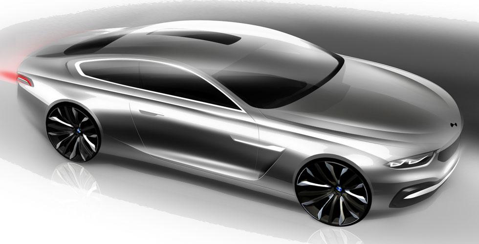 Dessin : BMW Pininfarina Gran Lusso Coupé