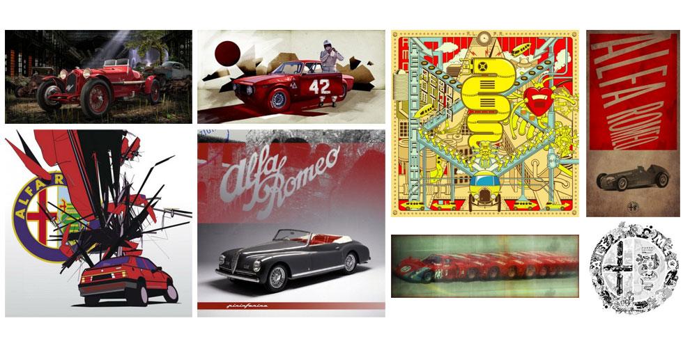 L'art version Alfa Romeo