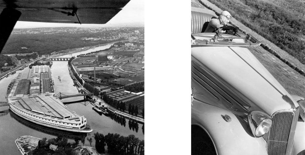 Photos : Robert Doisneau et Renault