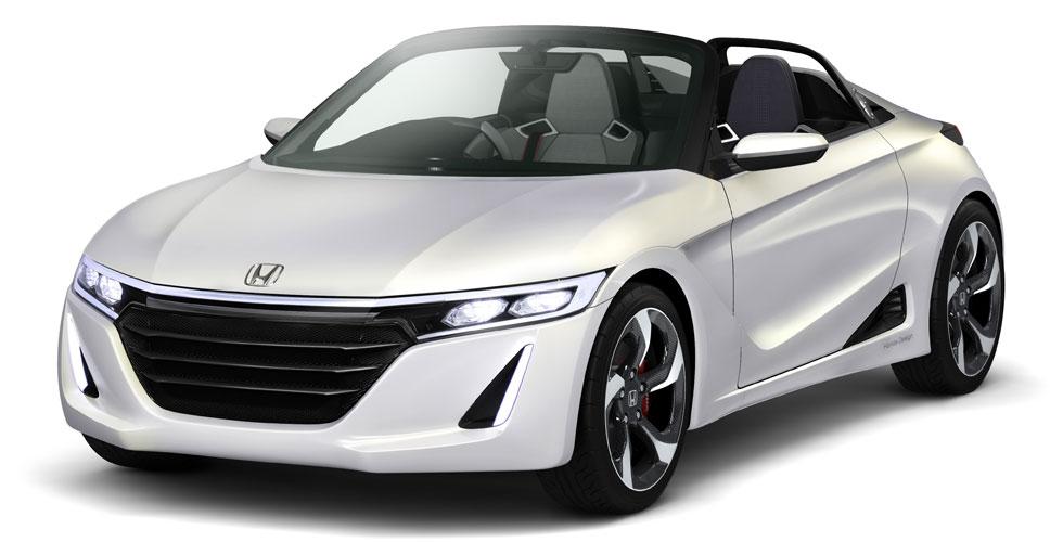 Nouveauté : Honda S660 Concept