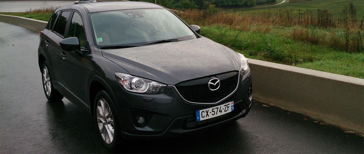 Essai Mazda CX-5 : l'alternative