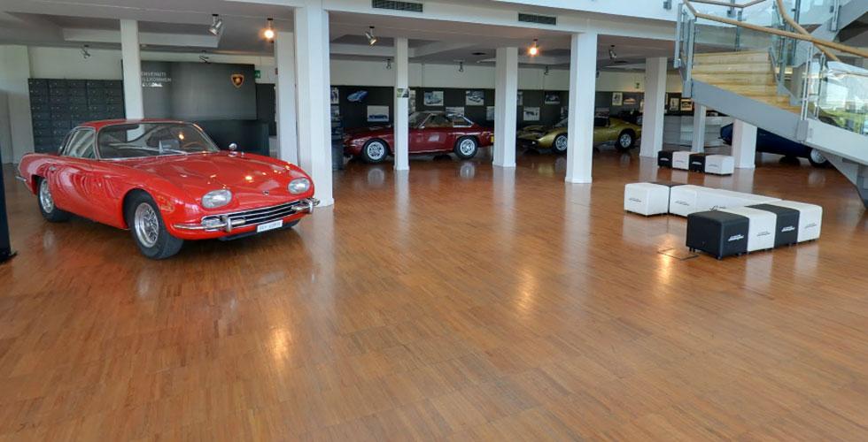 Visitez le musée Lamborghini grâce à Street View