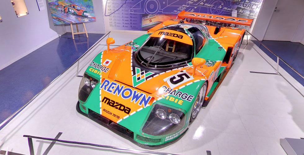 Visitez le Mazda Museum grâce à Street View