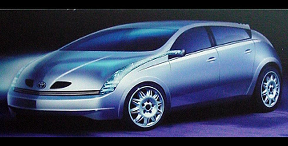 Dessin : Toyota Prius